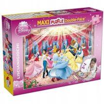 Disney Puzzle 2in1-ben: Hercegnők és Hercegek