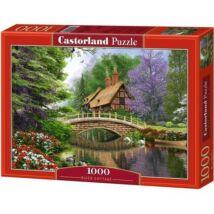 Castorland 1000 db-os Puzzle - Kunyhó a Folyónál