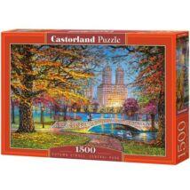 Castorland 1500 db-os Puzzle - Őszi Séta a Central Parkban