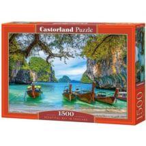 Castorland 1500 db-os Puzzle - Gyönyörű Öböl Thaiföldön