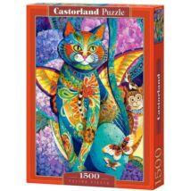 Castorland 1500 db-os Puzzle - Macska Fiesta