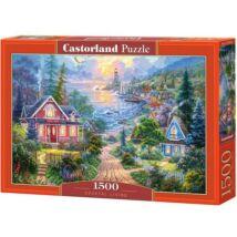 Castorland 1500 db-os Puzzle - Tengerparti Élet