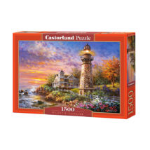 Castorland 1500 db-os Puzzle - Világítótorony
