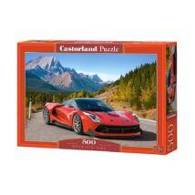 Castorland 500 db-os Puzzle - Hegyi út
