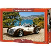 Castorland 500 db-os Puzzle - Roadster a Riviérán