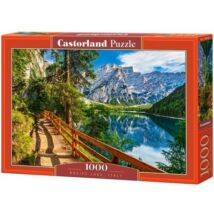 Castorland 1000 db-os Puzzle - Braies Tó, Olaszország