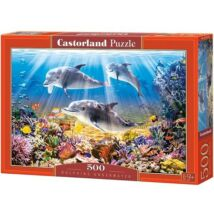 Castorland 500 db-os Puzzle - Delfinek