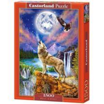 Castorland 1500 db-os Puzzle - Farkas Éjszakája