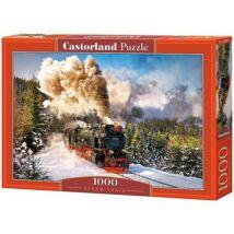 Castorland 1000 db-os Puzzle - Gőzmozdony