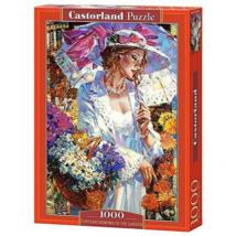 Castorland 1000 db-os Puzzle - Krizantém a Kertben