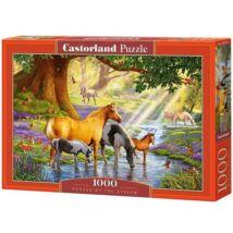 Castorland 1000 db-os Puzzle - Lovak a Pataknál