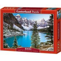 Castorland 1000 db-os Puzzle - Tó a Sziklás-hegységben, Kanada