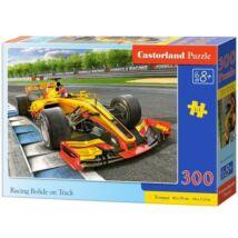 Castorland 300 db-os Puzzle - Versenyautó a Pályán