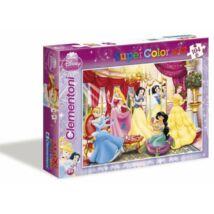 Disney Szuper Színes Hercegnő 104 db os Puzzle