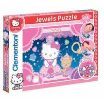Hello Kitty 104 db os Díszíthető Puzzle