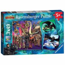 Ravensburger Puzzle: Így neveld a sárkányod
