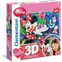 Disney 3D s Minnie és Daisy 104 db os Puzzle