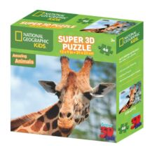 National Geographic 3D Puzzle: Zsiráf 48 db