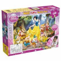 Disney Puzzle 2in1 -ben: Hófehérke és a Hét Törpe