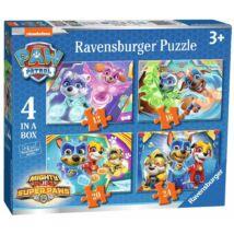 Ravensburger Mancsőrjárat Puzzle 4 in 1