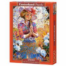 Castorland 1500 db-os Puzzle - Lány esernyővel