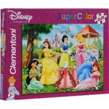 Disney Szuper Színes Hercegnős 2 x 20 db os