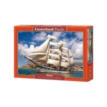 Castorland 500 db-os Puzzle - Vitorlás