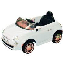 Elektromos Kisautó Fiat 500 - Fehér