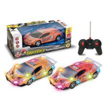 Sport Cars világító távirányítós autó, többféle