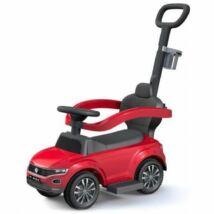 Baby Mix Volkswagen T-ROC Tolókaros Bébitaxi Piros