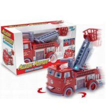 Szirénázó Tűzoltó Autó