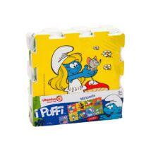 VitaminaG Hupikék Törpikék Habszivacs szőnyeg puzzle 9 db-os