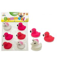 Fürdőjáték: Flamingó és Unikornis