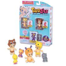 Twozies Paciocchini csomag: 3 kis figura és állatka