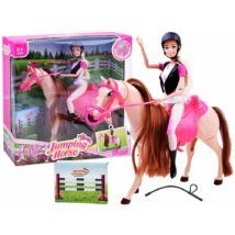 Barbie Ügető Lóval