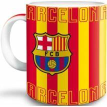 FCB Porcelán Bögre