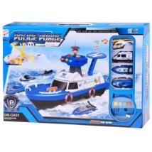 Rendőrségi Hajó Járművekkel