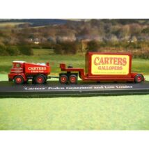 'Carters' Foden Generator and Low Loader 1:76 Modell autó