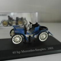 Mercedes-Benz 40 hp Mercedes-Simplex 1902 1:43 Modell Autó