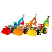 Traktor 2 Markolókanállal