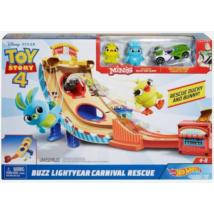 Hot Wheels Toy Story 4: Buzz Lightyear Vidámparki Versenypálya