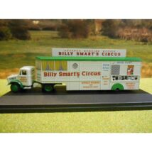 Bedford OX & Booking Trailer - Billy Smart's 1:76 Modell autó