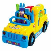 M-Toys Játék Teherautó Felszerelésekkel, Fények és hangok