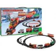 Szibériai Express, Teherszállító Vonat, sínpályával