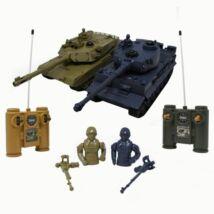 ZEGAN RC Tank 2 db-os (M1A2 vs. Tiger I.)