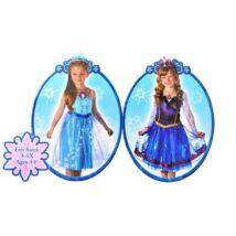 Jégvarázs Elza vagy Anna jelmez 4-6 éves