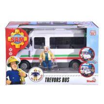 Sam a Tűzoltó: Trevor Busza Figurával