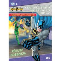 Batman: Rébusz Bosszúja Foglalkoztató Füzet