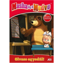 Masha és a Medve Foglalkoztató Füzet: Olvass Egyedül!