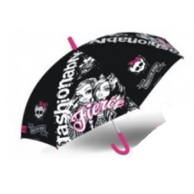 Monster High: Esernyő - fekete-szürke